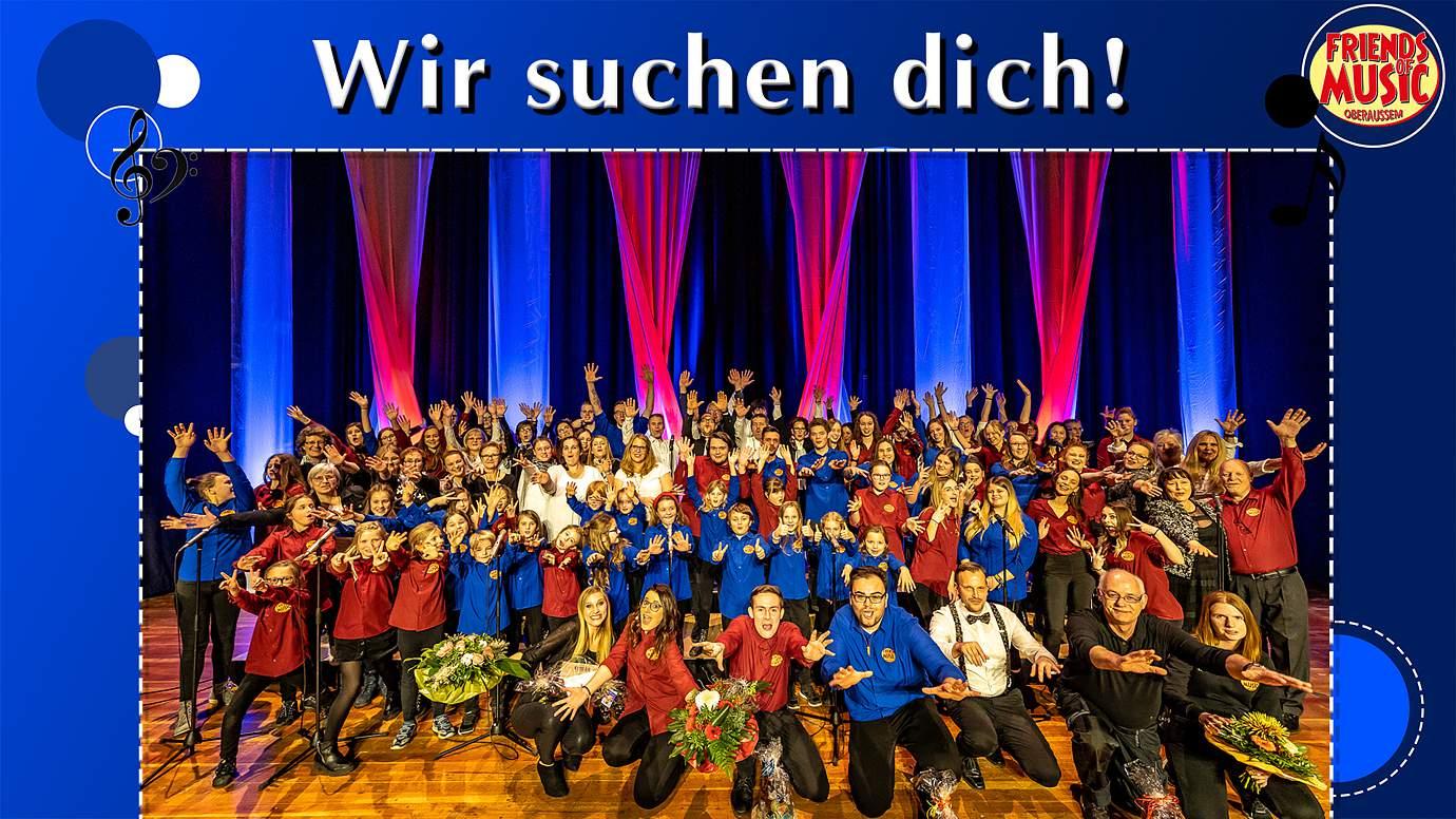 Friends Of Music Oberaußem sucht neue Sänger*innen!